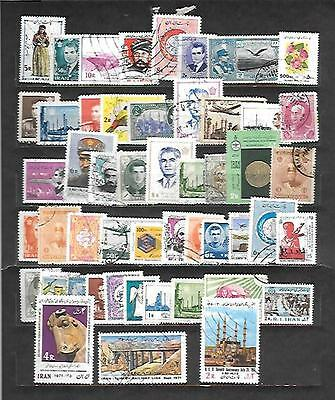 Middle East Stamps-45+ Different Used.