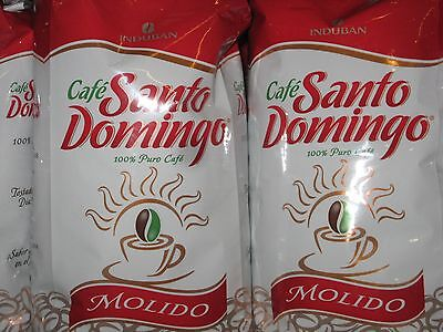 Santo Domingo 4 Lbs Cafe Molido Ground Coffee Dominican Fresh Gourmet Induban