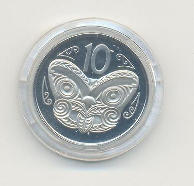 Very Nice Rare.new Zeland.10.cents.1973.proof.very Collectable.b.16
