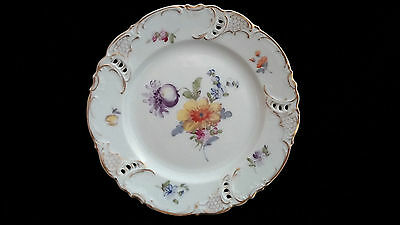 Nymphenburg Gilt Dessert Plate made for Maple and Co