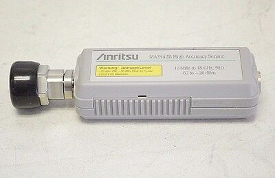 Anritsu MA2442B High Accuracy Diode Power Sensor 10 MHz-18 GHz  for Meters