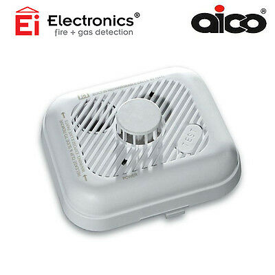 AICO Ei154TL Heat Alarm | Mains Powered 230V~ with Rechargeable Battery Back-up