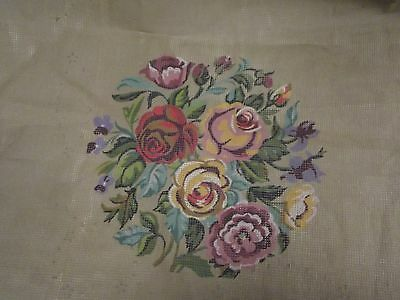 Twilleys Of Stamford Lovely Floral Tapestry Canvas 56Cm X 60Cm