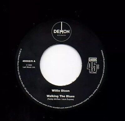 "Willie Dixon Mint 7"" 2-Sider R&b Blues Mod 45.free Uk P&p"