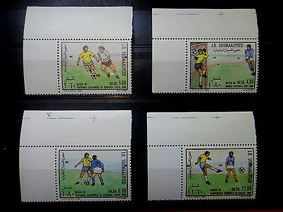 SOMALIA 1986 SOCCER WORLD CUP CHAMPIONSHIPS MEXICO Stamps SET - MNH -VF - r3b912