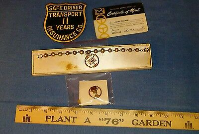 Vintage McLean Trucking Co. 2 Year Safe Driving Pin