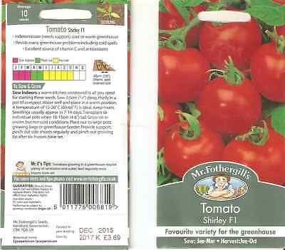 Shirley F1. Tomato seeds + Free Chilli Pepper seeds.