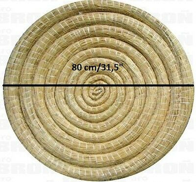 """2x Straw Archery Target 80cm/31,5"""". The best quality, hand made!!! Fast service."""