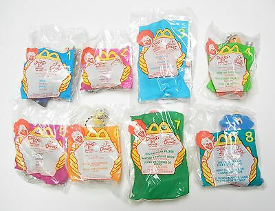 McDONALD'S TOYS - 1999 DOUG'S 1ST MOVIE FIGURES - FULL SET OF 8 - NEW IN BAGS