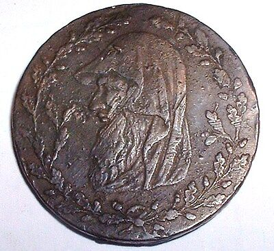 Rare 1773 Welsh Druid - North Wales 1/2d Half Penny Token  NO RESERVE