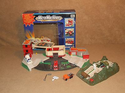 Micro Machines Emergency Response HQ Boxed Complete & Swamp Snap Rally & Extras