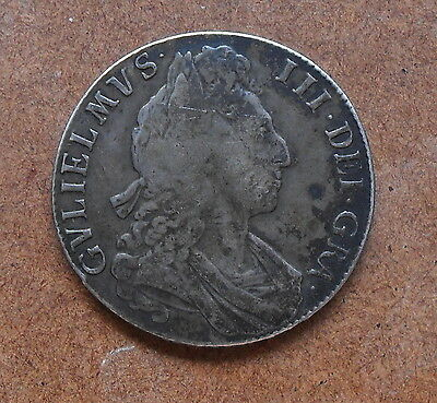 William III Silver Half Crown 1700