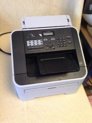 Brother Fax Machine - Model No 2840 - Drum Life / Toner Life Unknown