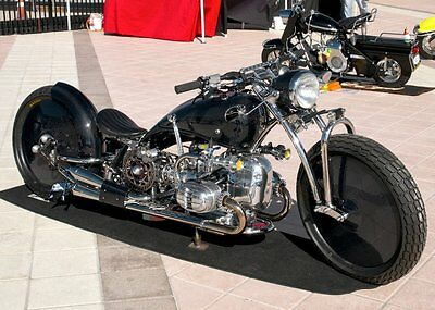 1967 Custom Built Motorcycles Pro Street  COMPLETE CUSTOM, CARBON FIBER, ONE OFF SHOW WINNING 1967 BMW R60 BEAST!!