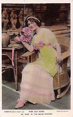 Postcard   Actresses  Lily  Elsie