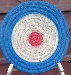 2x Straw Archery Target 80x8cm. The best quality, hand made!!! Painted!