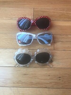 Lot Of Toddler Girls Spring/SUMMER Sunglasses Polka Dot, Gymboree, Dora
