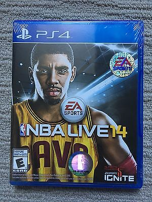 NBA Live 14 Brand New Sealed (Sony PlayStation 4, 2013)