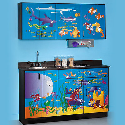 Ocean Commotion Cabinets  1 ea