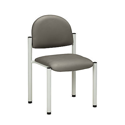 Gray Frame Chair with no arms-Warm Gray  1 ea