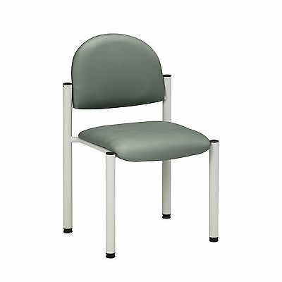 Gray Frame Chair with no arms-Soft Jade  1 ea