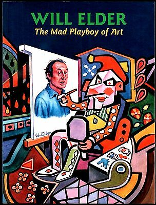 Will Elder The Mad Playboy Of Art Giant 392 Page S/c Book Ex Condition
