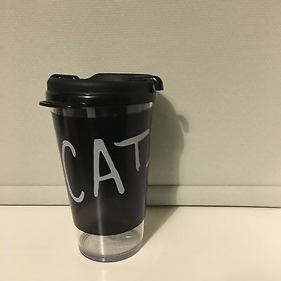 CATS The Musical Broadway City Tour 1981 R.U.G Cup Beaker Collectable Rare New