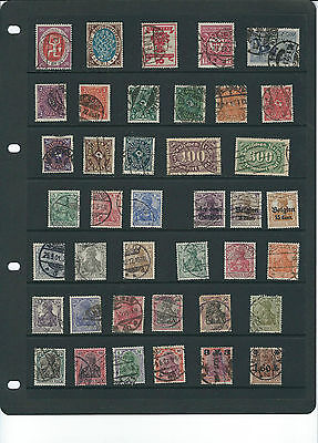 German Stamp Collection Pre 1939.