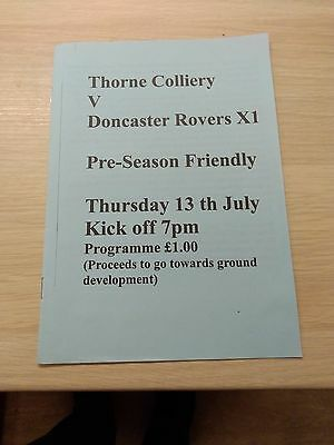 Thorne Colliery v Doncaster Rovers 13/7/2006