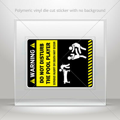 Sticker Decal Funny Do Not Disturb The Scuba Diver Vehicle st5 W826W