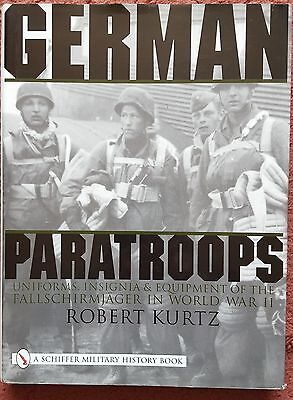 'german Paratroopers' Robert Kurtz 2000, Hardcover