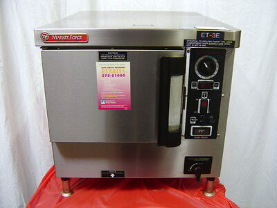 Market Forge Et-3E Eco Tech Steamer, Convection Oven, Warmer, Steam Cooker
