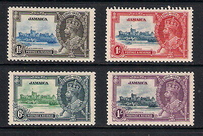 Jamaica 1935 KGV Silver Jubilee, SG114/117, mounted mint