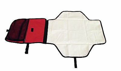 HM New Baby Nappy Changing Mat Portable Folding Travel Mat Waterproof - Red 06