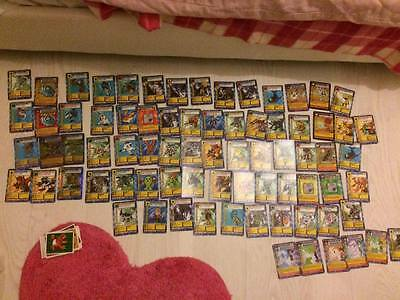 digimon cards +stickers