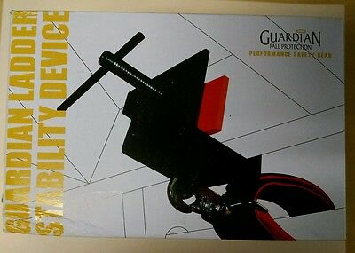 Guardian Fall Protection 10808 Ladder Stability Anchor Includes 2-Foot and 3-...