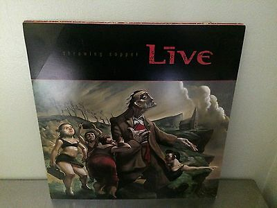 "SupER RARE! LiVE THroWinG COppeR doubLE sidED PROMO POSTer FLAt 12"" x 12"""