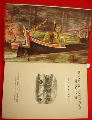 .... Early book on Inland Water Ways of England..   Canals