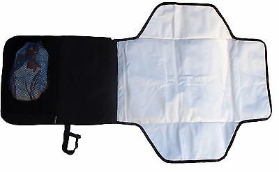 HM New Baby Nappy Changing Mat Portable Folding Travel Mat Waterproof - Black 05