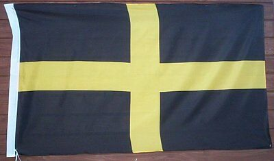 GIANT, ST. DAVID FLAG, Wales, Welsh Cross, 5ft x 3ft  (new)