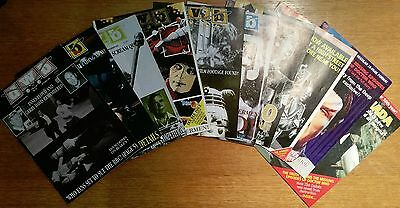 Doctor Who Bulletin / DWB Dr Who fanzine - job lot of 10 issues - 1991-1992