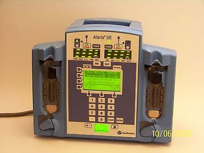 1 Alaris CareFusion SE 7230 Dual Channel Infusion Pump. MAINTAINED & WORKING.