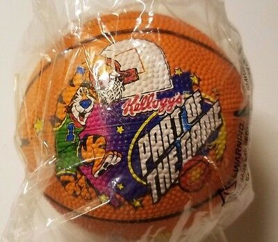 Kellogg's 1998 Promotional Advertising Mini Basketball - Part of the Game