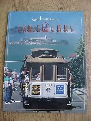 1992 San Francisco's Cable Cars History Trolley