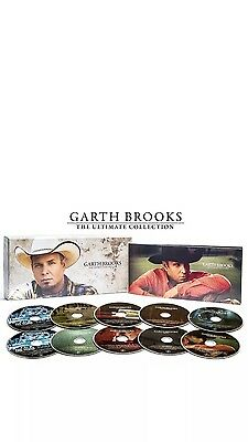 """Garth Brooks *New sealed* 10-Disc CD Exclusive """"The Ultimate Collection"""""""