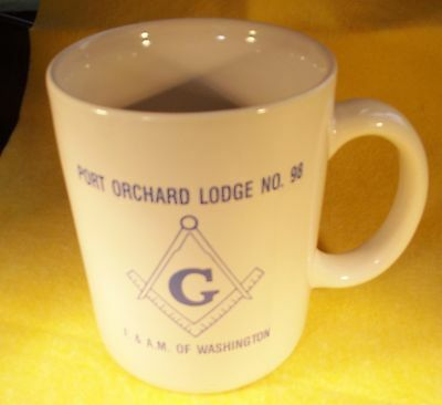 Port Orchard Lodge No. 98 ~Masons~Coffee Cup-F. & A.M. of Washington