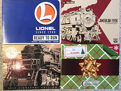 Latest Lionel 2017 Catalogs: Ready to Run, American Flyer, Signature & Christmas