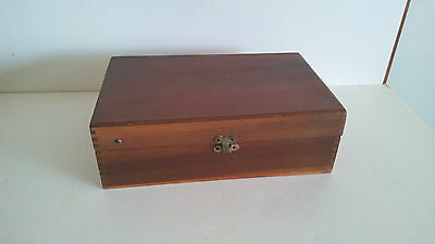 Vintage Davidson Fountain Syringe No. 15 Wooden Box
