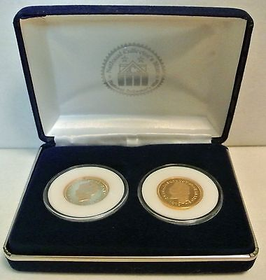 """1879 $4 Stella Coiled Hair Tribute Proof Gold-Clad """"Copy""""~ Nat'l Collectors Mint"""