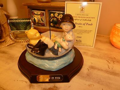 Royal Doulton Winnie The Pooh.  The Brain of pooh